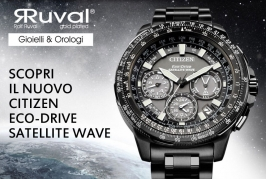 CITIZEN Eco-Drive Satellite Wave