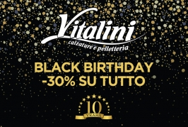 Vitalini Black Birthday