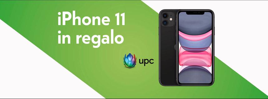 iPhone 11 e CHF 300 in regalo con UPC da Mobilezone Balerna